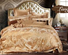 Постельное белье сатин жаккард с вышивкой Valtery 220-124
