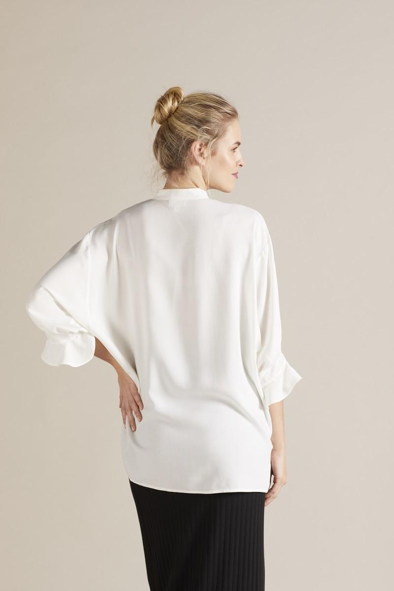 Блузка 09732 белый