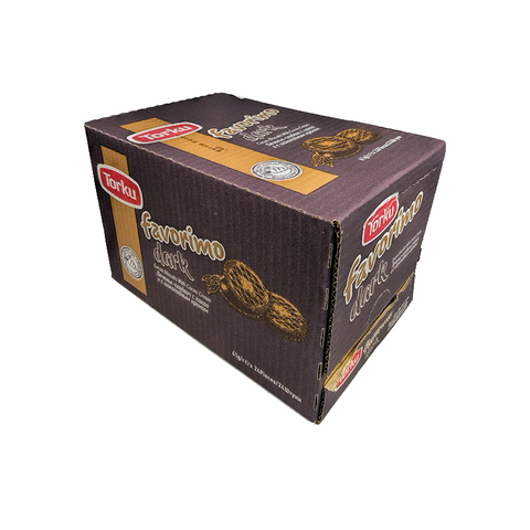 FAVORIMO DARK Печенье-сендвич с какао и шоколадным кремом 1кор*4бл*24шт 61гр.
