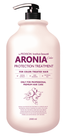 EVAS Pedison Маска для волос АРОНИЯ Institute-beaut Aronia Color Protection Treatment, 2000 мл