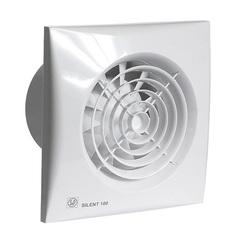 Вентилятор накладной S&P Silent 100 CRZ (таймер)