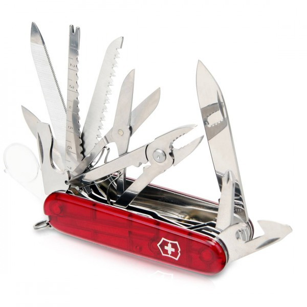 SwissChamp Red Trans Victorinox (1.6795.T)