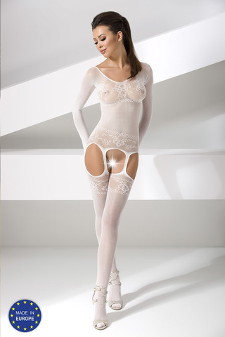 Кэтсьюит сетка красивый белый