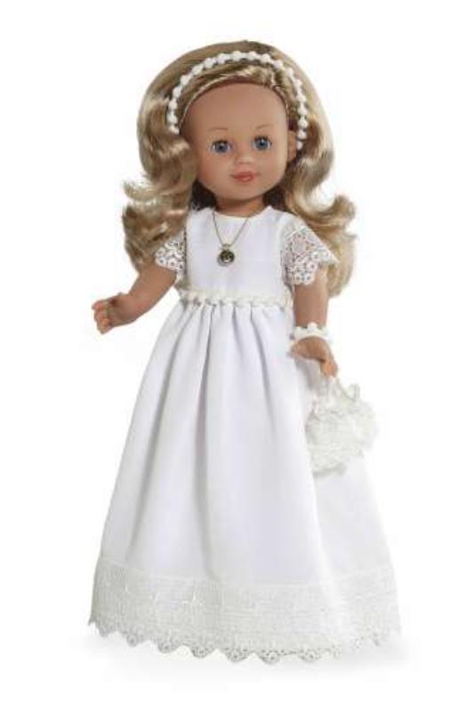 Кукла Arias Elegance девочка в белом 42 см