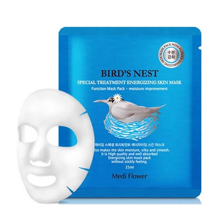 Маска для лица интенсивная с экстрактом ласточкиного гнезда Medi Flower Special Treatment Energizing Mask Pack Bird's Nest 5x25мл