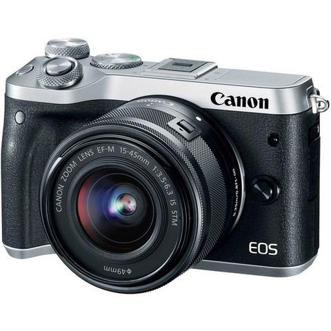Цифровой беззеркальный фотоаппарат CANON EOS M6 Kit 15-45mm f/3.5-6.3 IS STM