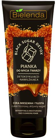 BLACK SUGAR DETOX Детоксифицирующая и увлажняющая пена для умывания лица для смешанной и жирной кожи
