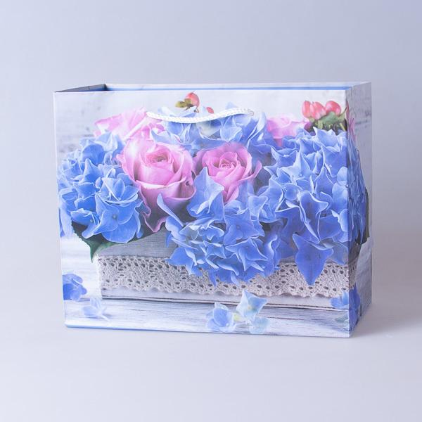 Пакет подарочный бумажный 22,5*18*10см, 640296-3