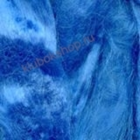 Вискоза для валяния (Троицкая) цвет 1229 ярко-голубой