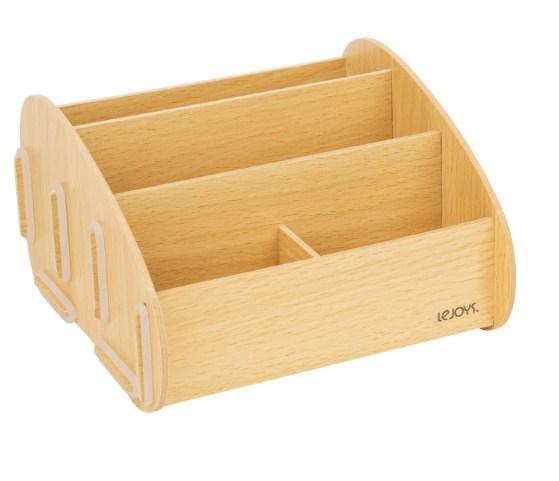 Подставка для канцелярских принадлежностей, Lejoys, Wood, 170*160*100 мм