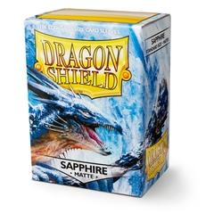 Dragon Shield - Голубые матовые протекторы 100 штук