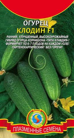 Семена Огурец Клодин F1 (Royal Sluis) 8 сем