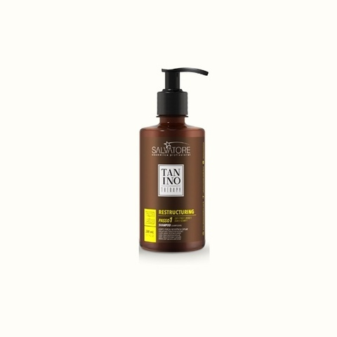 TANINO THERAPY Restructuring Shampoo Step 1 Capillary Body, strength and resistance 300ml Шампунь для реконструкции волос Шаг 1 300мл