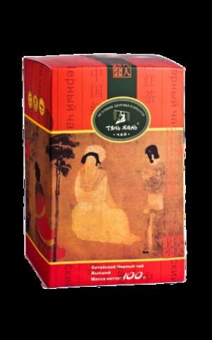 Чай Тянь Жень китайский чёрный листовой 100 гр