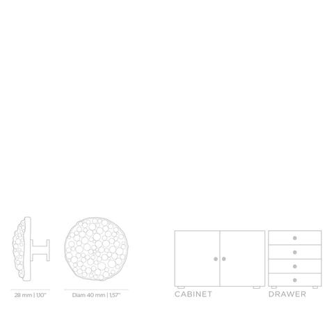 Мебельная ручка PullCast CAVIAR OC2007