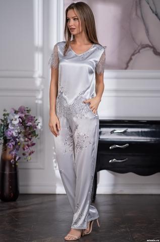 Шелковый брючный комплект Mia-Amore KELLY КЕЛЛИ 3576