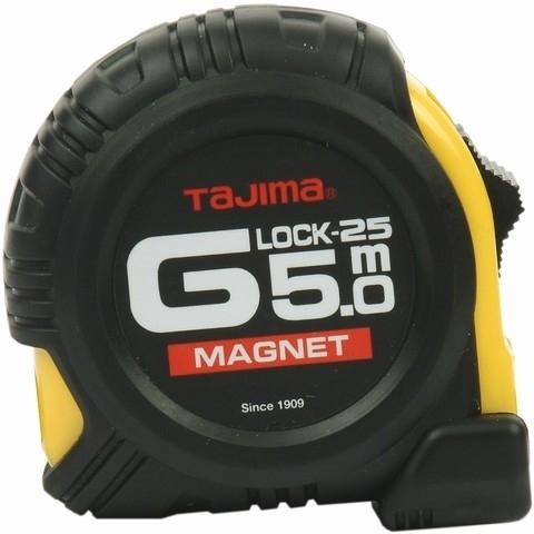 Рулетка 5м Magnet Tajima GM550MY