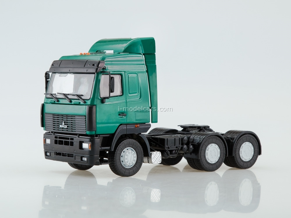 MAZ-6430 truck tractor green 1:43 AutoHistory