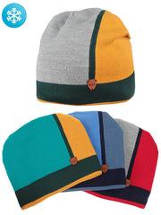 F75-17 шапка детская, цветная (флис)