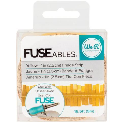Лента FUSEables Decorative Tape - Fringe/Yellow