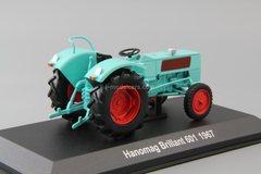 Tractor Hanomag Brillant 601 1967 1:43 Hachette #99