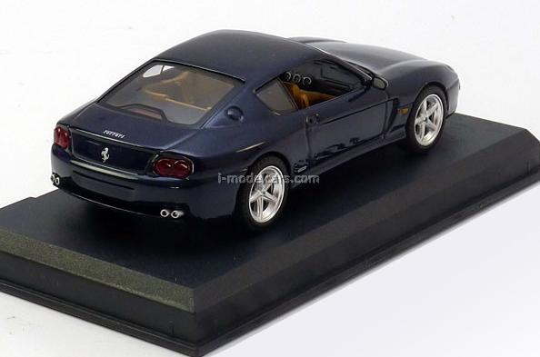 Ferrari 456 M GT dark-blue 1:43 Eaglemoss Ferrari Collection #31