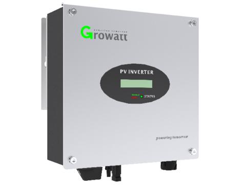 Сетевой инвертор Growatt 3000 S (3 кВ, 1-фазный, 1 МРРТ)