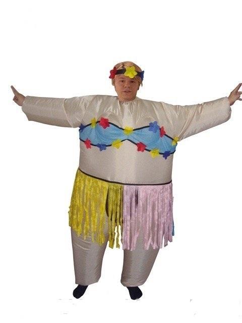 Надувной костюм Гавайская танцовщица