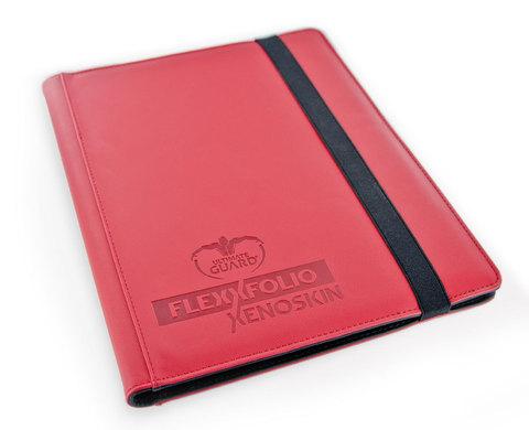 Ultimate Guard - Красный гибкий альбом XenoSkin на 360 карт (3х3)