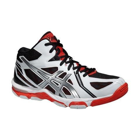 Кроссовки волейбольные Asics Gel-Volley Elite 3 MT wh-bl (B501N 0193) мужские