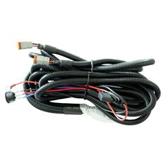Комплект проводов с разъёмом, кнопкой, реле, предохранителем для двух фар R серии