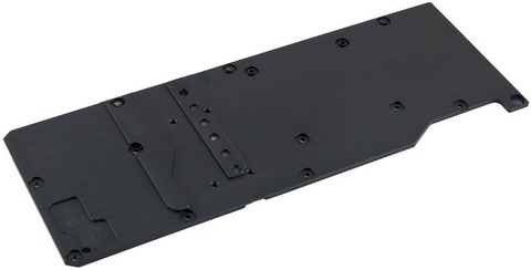 Задняя пластина Aqua-Computer Back plate for kryographics Pascal GTX 1080 and 1070, passive