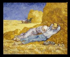"""Репродукция """"Ван Гог - Полдень: отдых от работы (по Милле)"""""""