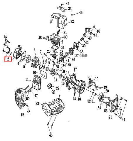 Диск сцепления  для лодочного мотора T2 SEA-PRO