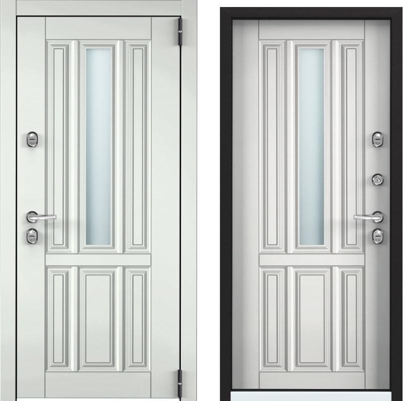 Входные двери Snegir Cottege 01 SNG-1 белый SNG-1 КТ белый generated_image-6.jpg