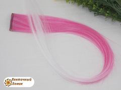 Канекалон омбре розово-белый