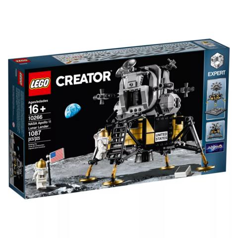 LEGO Creator: Лунный модуль NASA Apollo 11 10266 — NASA Apollo 11 Lunar Lander — Лего Креатор Создатель