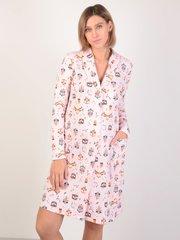 Евромама. Халат классика для беременных и кормящих, светло-розовый