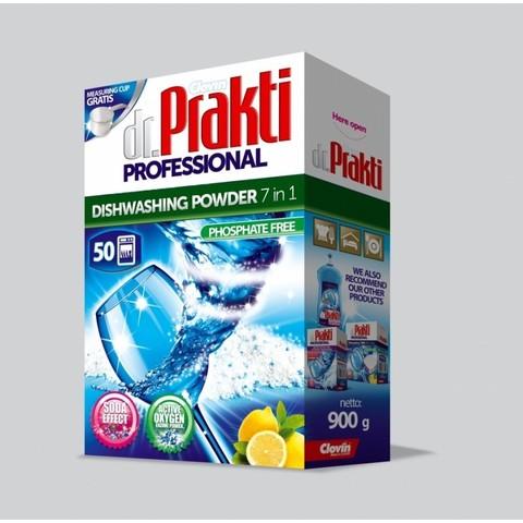 Clovin / Порошок для посудомоечных машин Dr.Prakti Professional 900г