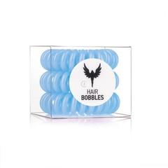 Силиконовая резинка для волос Hair Bobbles  - Голубая, 3 шт