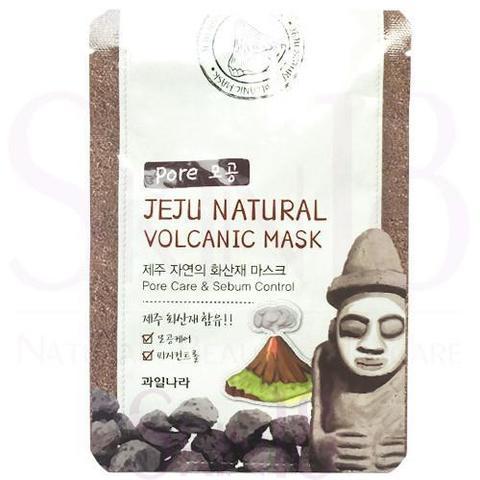 WELCOS Jeju Маска для лица очищающая поры Jeju Natural Volcanic Mask Pore Care & Sebum Control 20мл