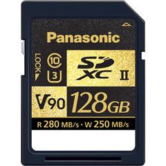 Карта памяти Panasonic 128GB UHS-II SDXC Memory Card