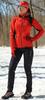 Женский утеплённый лыжный костюм Nordski Premium 2018 Red-black