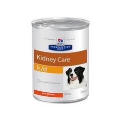 Hill's Prescription Diet k/d Kidney Care влажный диетический корм для собак при хронической болезни почек, 370 г