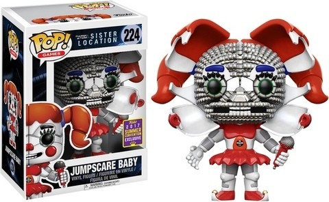 Фигурка Funko Pop! Games: Five Nights At Freddy's Sister Location - Jumpscare Baby (Excl. to SDСС)