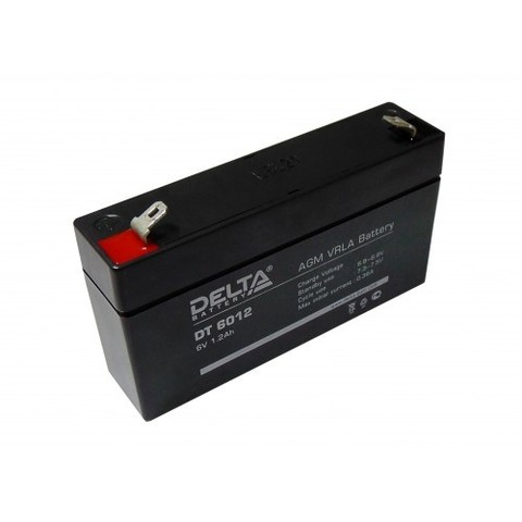 DT 6012 аккумулятор 6В/1.2Ач Delta