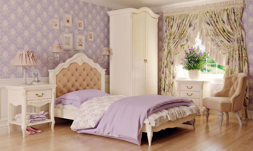 Баннер кровати с мягким изголовьем