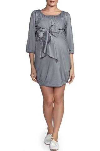 Платье 05819 серый