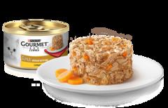 Gourmet Gold Нежные биточки с курицей и морковью 85 г