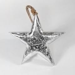 Фигурка декоративная Snow Star, подвесная, 23х23х3 см EnjoyMe